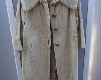 Vintage A. J. Lipsey - Beverly Hills 1940's to 1950's Deerskin Coat