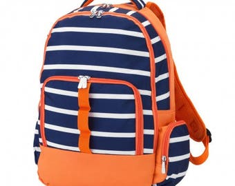 Line Up Backpack * Monogrammed FREE * / Large Boys Backpack / Personalized Backpack / Back to School Gear / FREE Personalization