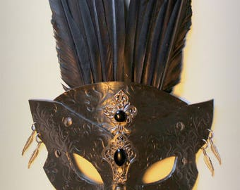 SteamGoth Crow mask