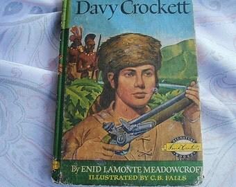 Davy Crockett Vintage Story Book