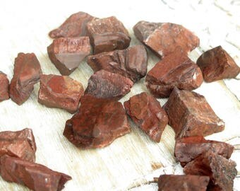 Red Tigers Eye Rough Healing Stones / Raw Stones