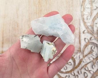 Aquamarine Raw Chunk - Natural Aquamarine