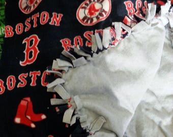 Boston Red Sox Print Fleece Blanket