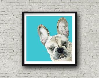 French Bulldog - Print
