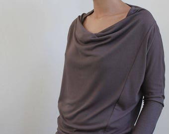 THE CLASSIC COWL top sewing pattern