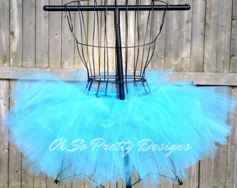 Marathon Tutu, Princess Marathon, Princess Tutu, Baby, Kids, Adult, Plus Turquoise Tutu, Running Skirt