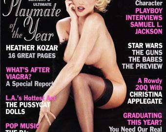 Vintage Playboy Magazine June 1999 with Heather Kozar, Sugar And Spicer, Samuel L Jackson, Christina Applegate & Deborah Harry