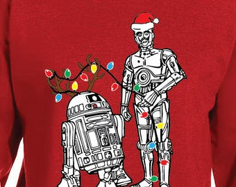 Star Wars Christmas Droids Sweater