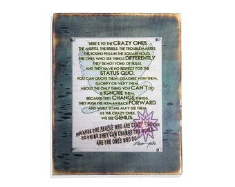 Wooden Signs. Mixed media Rustic Wood Framed.  Quotes on Wood. Wall decor. 5th Anniversary Gift. Wood Gift.