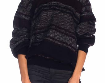 1980s Galtrucco V-neck Sweater Size: L