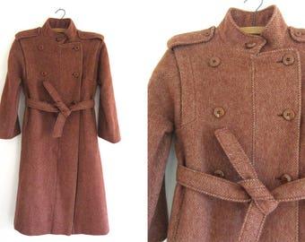 Vintage wool coat | Etsy