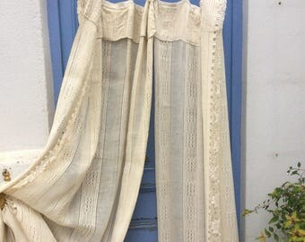 Vintage Ciel De Lit. French. Chrome, Home Decor, French Bedroom. Bed Hangings.