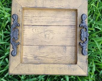 Decorative / Serving Tray - Dijon Distressed