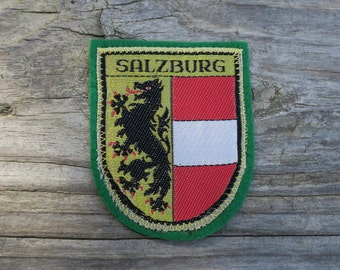Vintage Salzburg Travel Patch