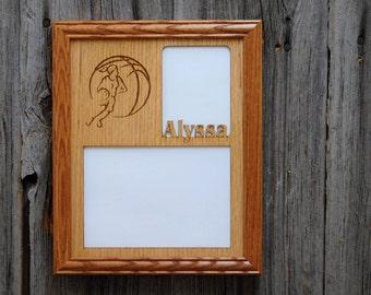 Basketball Picture Frame, Gift for Basketball Player, Basketball Parent Gift, Basketball Decor, Gift for Basketball Fan, Sports Photo Frame
