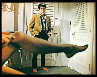 The GRADUATE original 1968 movie still photo ICONIC SCENE