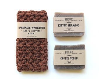 Coffee Lovers Gift For Valentines Day Gifts For Women Gift For Men  Valentine Gift Set Soap