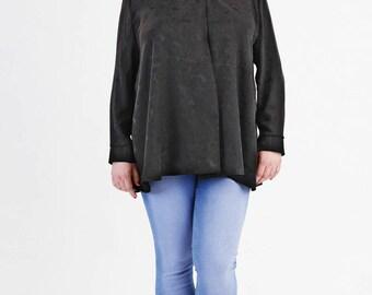 Sewing pattern Michelle blouse Plus size (ebook)
