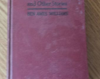 Thrifty Stock and Other Stories by Ben Ames Williams, Antique Book