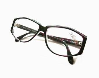 Vintage Silhouette Womens  Eyeglass Frame   80's Fashion
