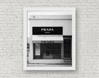 Prada Marfa Art, Prada Marfa Photography, Prada Marfa Wall Art, Prada Marfa Print, Prada Marfa Sign, Prada Marfa Poster, Prada Marfa