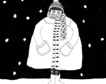 It's a cold winter!