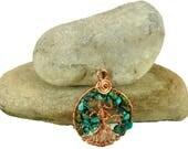 Women's turquoise tre...