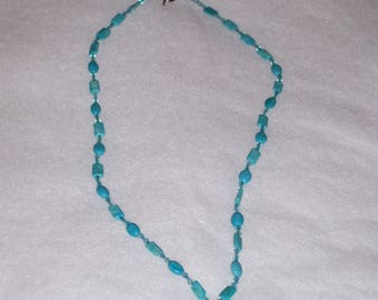 31-Inch Turquoise Necklace