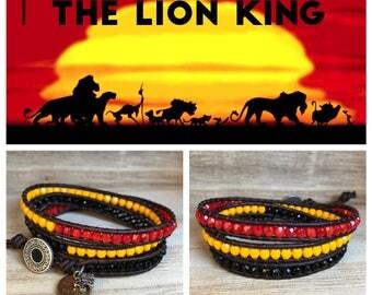 LION KING Triple Wrap Bracelet