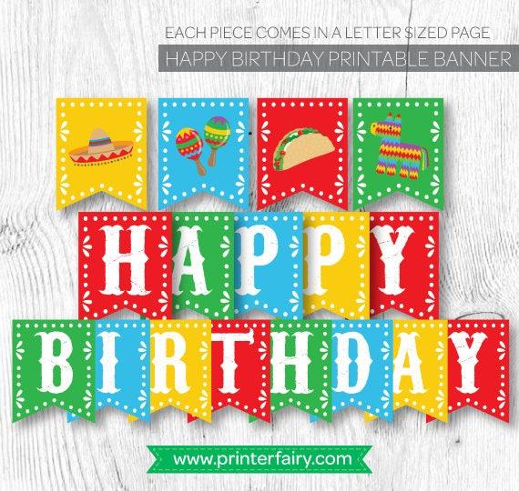 Fiesta Birthday decorations Fiesta Banner Fiesta First Birthday