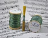 Minty Fresh, Hand-Dyed Reed Thread (FF),
