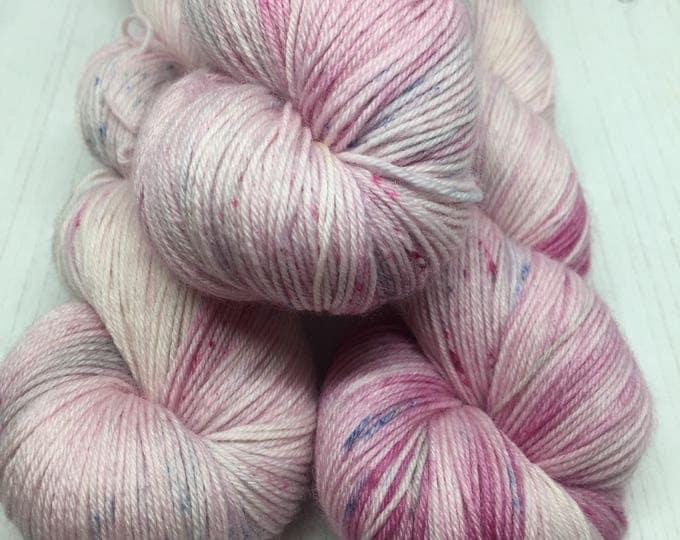 Candy floss - 100grams 75/25% Merino and Nylon  4 ply wool