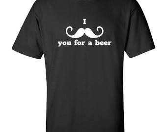 I Mustache You For a Beer T Shirt