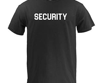 Security Bouncer Basic Cotton T Shirt