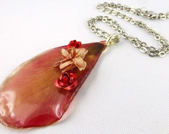 Necklace, Resin, Tulip