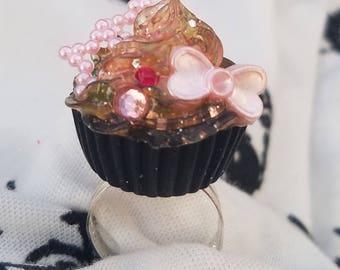 Sweet Lolita Cupcake Ring 55 Galaxy Jelly