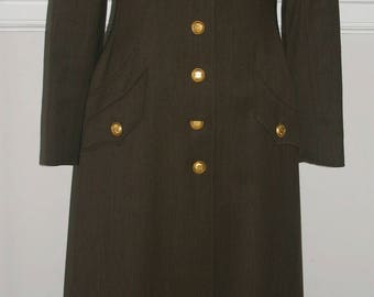 CHANEL MILITARY COAT...