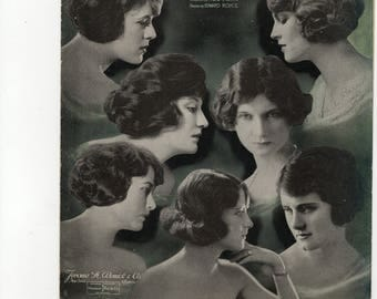 Hold Me (Ziegfeld Follies of 1920)- Vocal and piano NM condition.Cover pictures of Ziggy's girls.