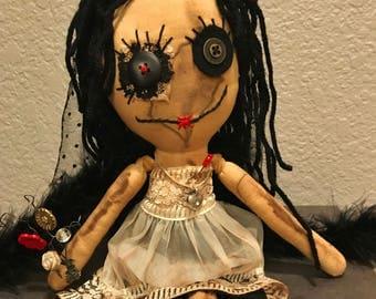 Shabby Charlotte Doll - Henley