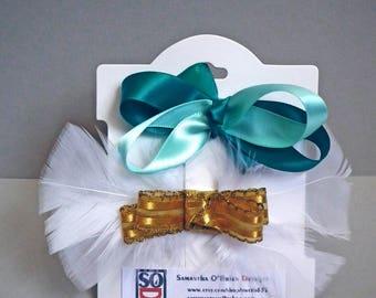 Hair bows. Classic hair bow clips. Satin ribbon bows. gift for girl.