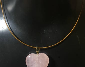 Rose Quartz Healing Necklace