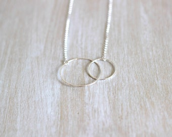 Necklace 2 925 sterling silver circles