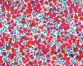 Liberty Tana Lawn fabric Wiltshire Berry - 5''x10'' Red piece