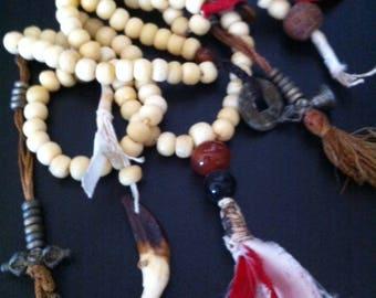 Tibetan Mala, Buddhist Prayer Beads