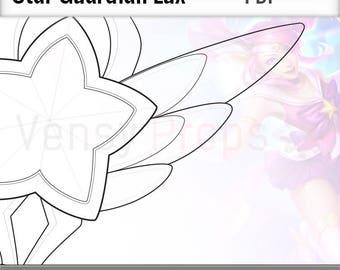 Star Guardian Lux - Blueprint Cosplay League of Legends DIY
