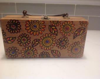 Vintage Gary Gail Dallas Box Purse