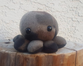 Camouflage Octopus Plush - Camo Baby Octopus - Ready to Ship!