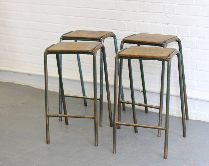 Industrial Stools From The Motor Industry Research Association Circa 1940s