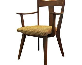 Mid-Century Arm Chair Danish Modern Heywood Wakefield Cadence Office Accent Chair