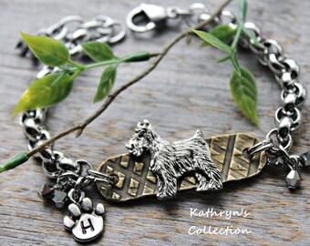 Schnauzer Bracelet, Schnauzer Jewelry, Schnauzer Gift, Schnauzer Lover